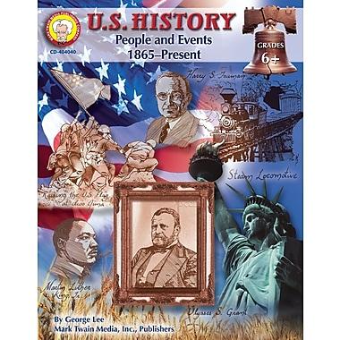 Livre numérique: Mark Twain « U.S. History », 11 à 14 ans, 404040-EB