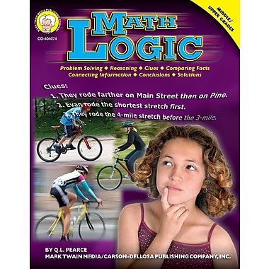 eBook: Mark Twain 404074-EB Math Logic, Grade 6 - 12