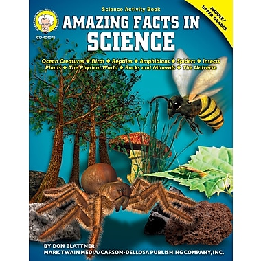 eBook: Mark Twain 404076-EB Amazing Facts in Science, Grade 6 - 12
