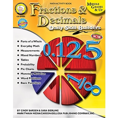 eBook: Mark Twain 404085-EB Fractions & Decimals, Grade 6 - 12