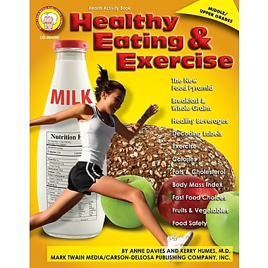 eBook: Mark Twain 404090-EB Healthy Eating and Exercise, Grade 6 - 12