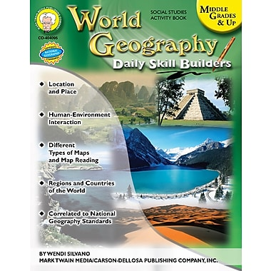 eBook: Mark Twain 404095-EB World Geography, Grade 6 - 12