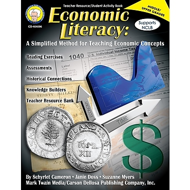 eBook: Mark Twain 404096-EB Economic Literacy, Grade 6 - 12