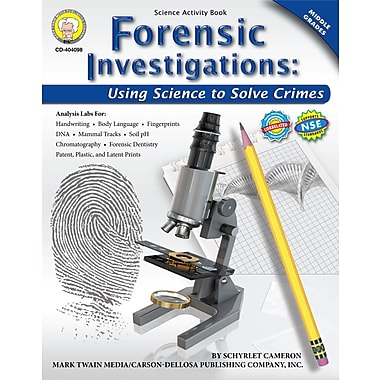 eBook: Mark Twain 404098-EB Forensic Investigations, Grade 6 - 8