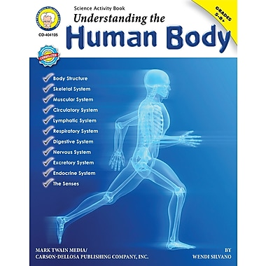 eBook: Mark Twain 404105-EB Understanding the Human Body, Grade 5 - 8