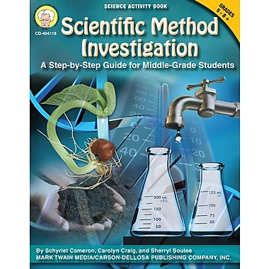 eBook: Mark Twain 404118-EB Scientific Method Investigation, Grade 5 - 8