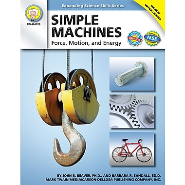 Livre numérique: Mark Twain « Simple Machines », 11 à 18 ans, 404120-EB