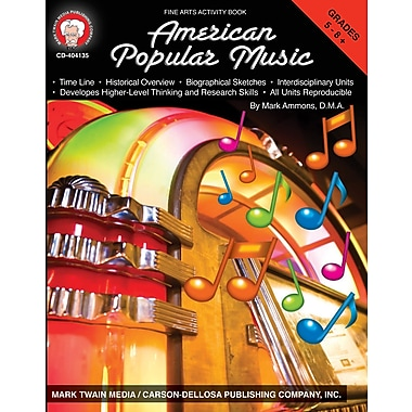 eBook: Mark Twain 404135-EB American Popular Music, Grade 5 - 8