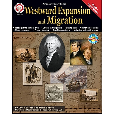 Livre numérique: Mark Twain « Westward Expansion and Migration », 11 à 18 ans, 404138-EB