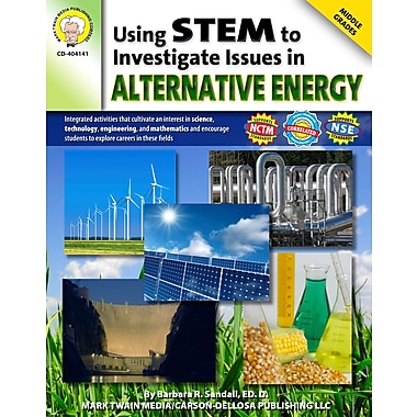eBook: Mark Twain 404141-EB Using STEM to Investigate Issues in Alternative Energy, Grade 6 - 8