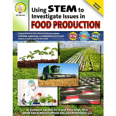 Livre numérique: Mark Twain « Using STEM to Investigate Issues in Food Production », 10 à 14 ans, 404142-EB