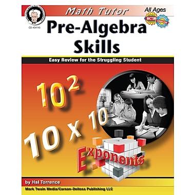 eBook: Mark Twain 404145-EB Math Tutor: Pre-Algebra, Grade 6 - 8