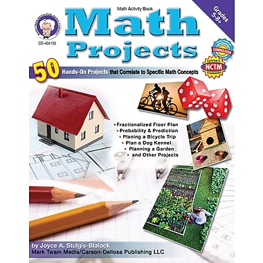 eBook: Mark Twain 404155-EB Math Projects, Grade 5 - 8