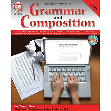 eBook: Mark Twain 404156-EB Grammar and Composition, Grade 5 - 8