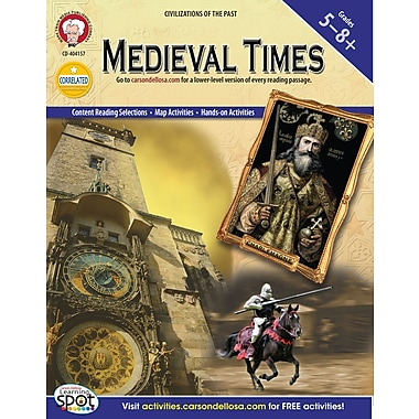 eBook: Mark Twain 404157-EB Medieval Times, Grade 5 - 8