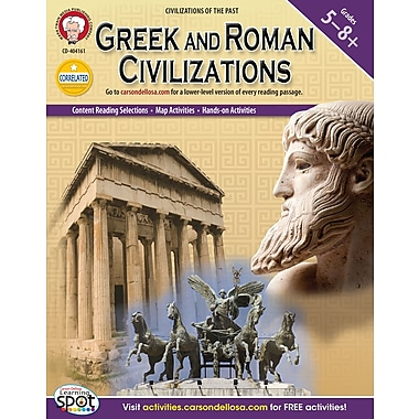 eBook: Mark Twain 404161-EB Greek and Roman Civilizations, Grade 5 - 8