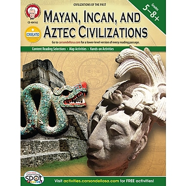 eBook: Mark Twain 404162-EB Mayan, Incan, and Aztec Civilizations, Grade 5 - 8