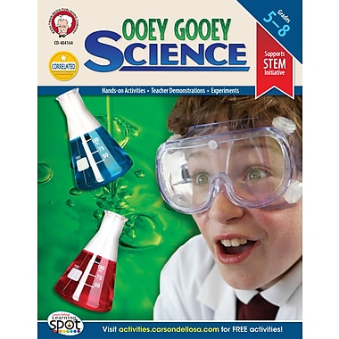 eBook: Mark Twain 404164-EB Ooey Gooey Science, Grade 5 - 8
