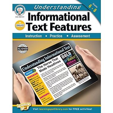 Livre numérique : Mark Twain 404181-EB Understanding Informational Text Features, de calibre 6e à 8e année