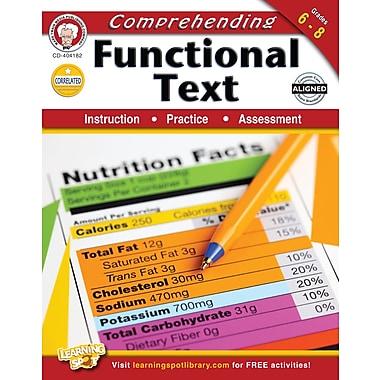 eBook: Mark Twain 404182-EB Comprehending Functional Text, Grade 6 - 8