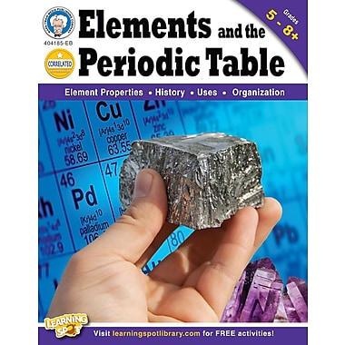 Livre numérique : Mark Twain 404185-EB Elements and the Periodic Table, 5e à 8e année