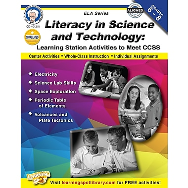 eBook: Mark Twain 404210-EB Literacy in Science and Technology, Grade 6 - 8