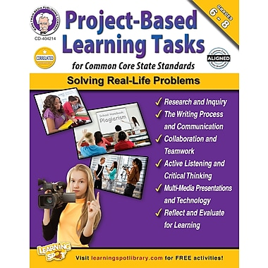 eBook: Mark Twain 404214-EB Project-Based Learning Tasks for Common Core State Standards, Grade 6 - 8