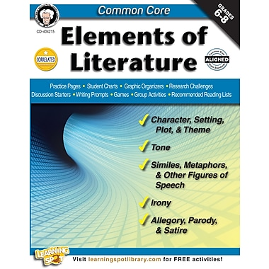eBook: Mark Twain 404215-EB Common Core: Elements of Literature, Grade 6 - 8
