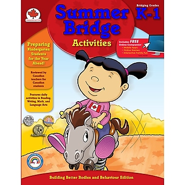 eBook: Summer Bridge Activities 104508-EB Summer Bridge Activities®, Grade K - 1