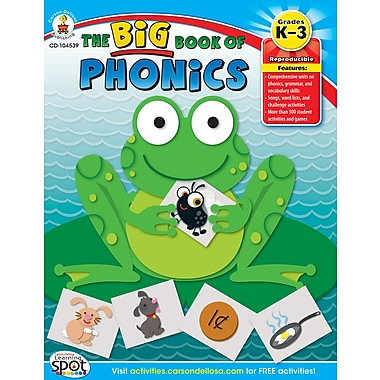 eBook: Carson-Dellosa 104539-EB The Big Book of Phonics, Grade K - 3