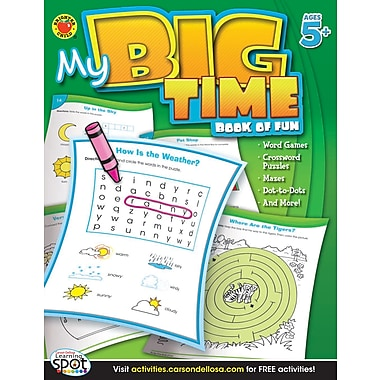 eBook: Brighter Child 704216-EB My Big Time Book of Fun, Grade K - 2