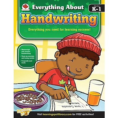 eBook: Carson-Dellosa 704289-EB Handwriting, Grade K - 1