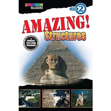 Livre numérique : Spectrum 704327-EB Amazing! Structures, maternelle à 1re année