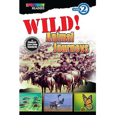 eBook: Spectrum 704328-EB Wild! Animal Journeys, Grade K - 1