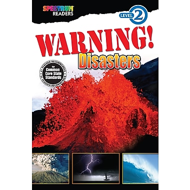 eBook: Spectrum 704329-EB Warning! Disasters, Grade K - 1