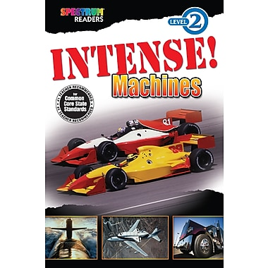 Livre numérique : Spectrum 704331-EB Intense! Machines, maternelle à 1re année
