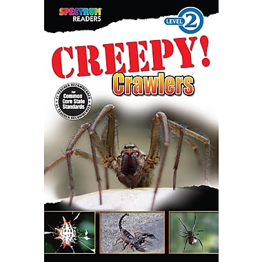 eBook: Spectrum 704333-EB Creepy! Crawlers, Grade K - 1