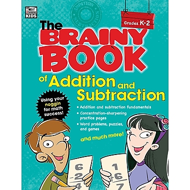 eBook: Thinking Kids 704665-EB Brainy Book of Addition and Subtraction, Grade K - 2