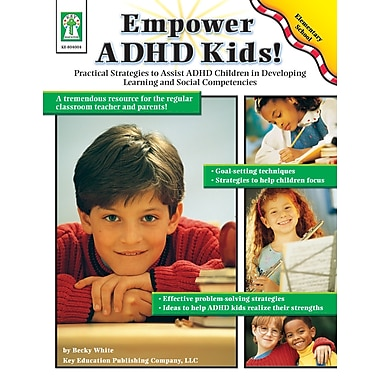 eBook: Key Education 804004-EB Empower ADHD Kids!, Grade K - 5