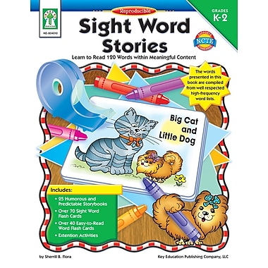 eBook: Key Education 804010-EB Sight Word Stories, Grade K - 2