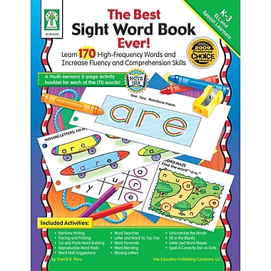 eBook: Key Education 804038-EB The Best Sight Word Book Ever!, Grade K - 3