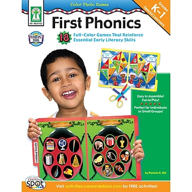 Livre numérique : Key Education 804102-EB Color Photo Games: First Phonics, maternelle à 1re année