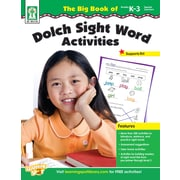 Livre numérique : Key Education 804105-EB, The Big Book of Dolch Sight Word Activities, maternelle à la 3e année