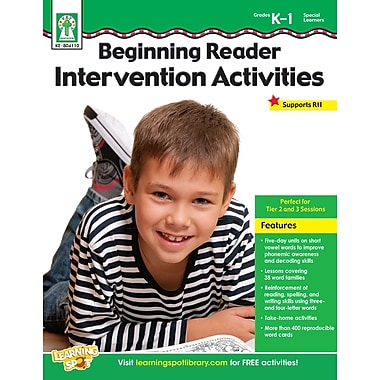 eBook: Key Education 804110-EB Beginning Reader Intervention Activities, Grade K - 1