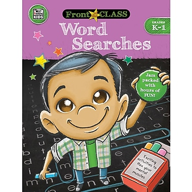 e-Book: Carson-Dellosa 704994-EB Word Searches, Grade K - 1