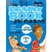 Carson-Dellosa 705004-EB Brainy Book Just for Boys!, classe maternelle - 5e année