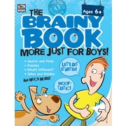 e-Book: Carson-Dellosa 705005-EB Brainy Book More Just for Boys!, Grade K - 5