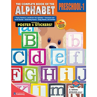 eBook: American Education Publishing 0769685552-EB The Complete Book of the Alphabet, Grade Preschool - 1