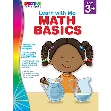 eBook: Spectrum 104443-EB Math Basics, Grade Preschool - K