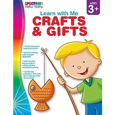 eBook: Spectrum 104447-EB Crafts & Gifts, Grade Preschool - K